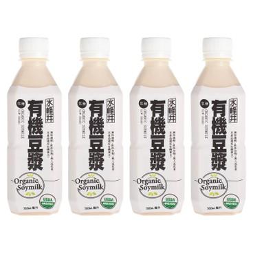 SUIHOUI - Organic Low Sugar Soya Bean Milk - 360MLX4