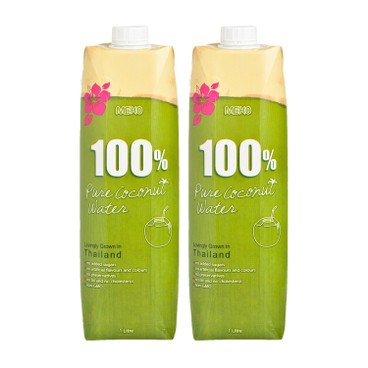 MEKO - 100 % PURE COCONUT WATER - 1LX2