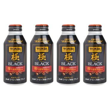 朝日 - 極咖啡 - 400MLX4