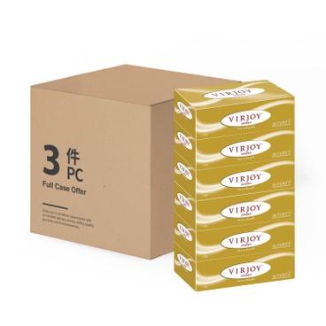 唯潔雅 - 珍寶系列-三層盒裝面紙 - 3件裝 (Pokemon/無卡通版 款式隨機發送) - 6'SX3