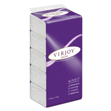 VIRJOY - Deluxe Interfold Facial 3 s - 5'SX3