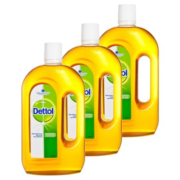 DETTOL - Antiseptic Liquid Bundle - 750MLX3