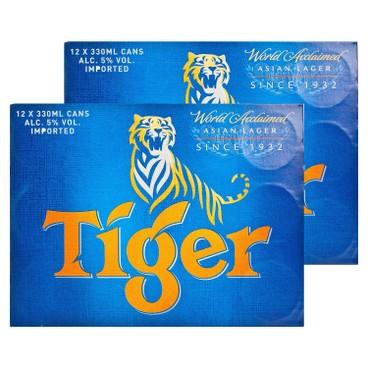 TIGER - Beer full Case - 330ML X 12 X2