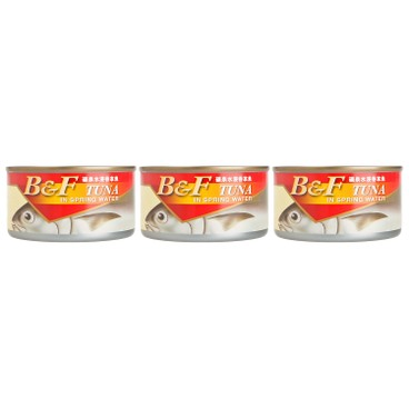 B&F - Tuna In Spring Water - 185GX3