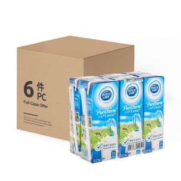 子母 - 天然純牧原味牛奶飲品-原箱 - 225MLX6X6