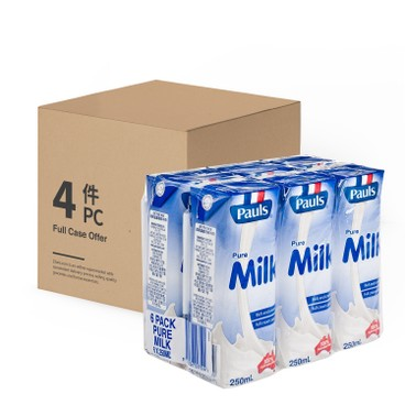 PAULS - Milk case Offer - 250MLX6X4