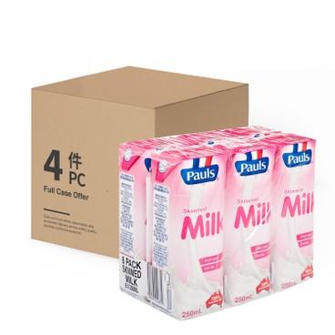 PAULS 保利 - 脫脂奶-原箱 - 250MLX6X4