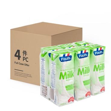 PAULS - Hi calcium Low Fat Milk case Offer - 250MLX6X4