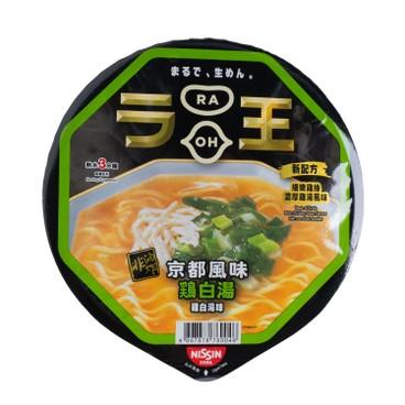 NISSIN - Bowl Noodle raoh rich Chicken Soup Flavor - 96GX2