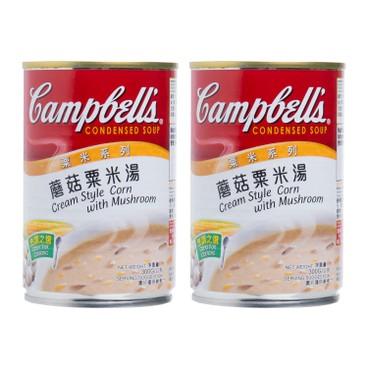 金寶 - 粟米系列-蘑菇粟米湯 - 305GX2