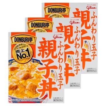 固力果 - DONBURI亭雞肉飯-套裝 - 210GX3