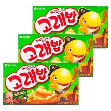 ORION - KOREPAB SNACK-SEAWEED (KOREAN VERSION) - 40GX3