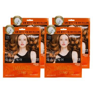MISE EN SCENE - SALON CLINIC STEAM HAIR MASK-DAMAGE CARE(RANDOM PACKAGE) - 15MLX4