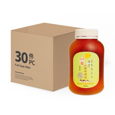 MAMA WORKSHOP - LEMON WITH OLD TANGERINE, CHUAN BEI AND ROCK SUGAR-CASE OFFER - 350MLX30