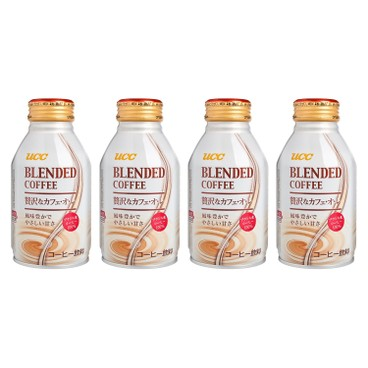 UCC - Blended Coffee smooth - 260MLX4