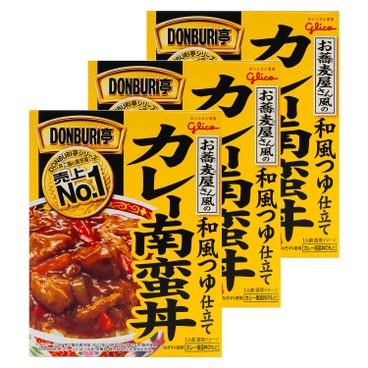固力果 - DONBURI亭炸雞肉丼-套裝 - 160GX3