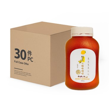 MAMA WORKSHOP - Stewed Lemon With Osmanthus And Rock Sugar case Offer - 350MLX30