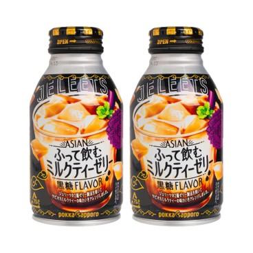 POKKASAPPORO - JELEETS搖搖果凍-奶茶 - 265MLX2
