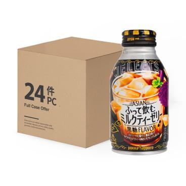 POKKASAPPORO - JELEETS搖搖果凍-奶茶-原箱 - 265MLX24