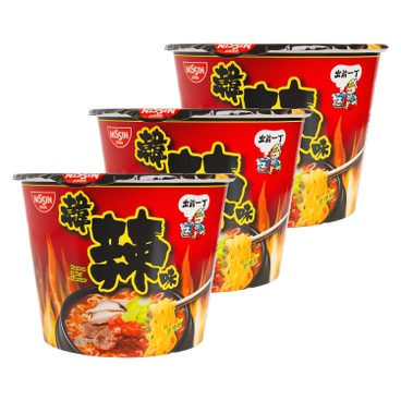 DE-MA-E - Bowl Noodle korean Spicy Flavor - 102GX3