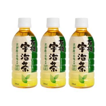 MORITA - Organic Uji Green Tea - 330MLX3