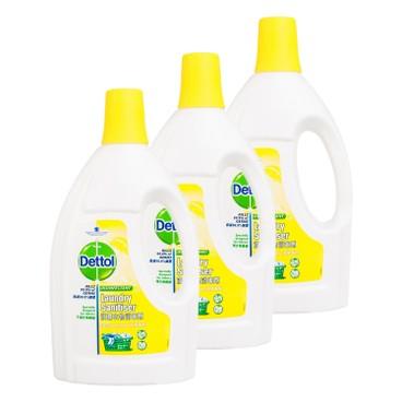 滴露 - 衣物消毒劑 - 檸檬香味 - 1.2L*3