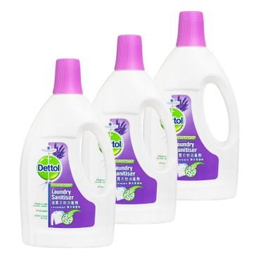 DETTOL - Laundry Sanitiser Lavender - 1.2L*3