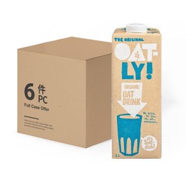 OATLY - Oat Drink organic case Offer - 1LX6