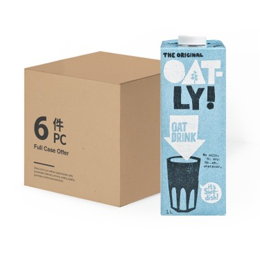 OATLY - 原味燕麥奶-原箱 - 1LX6