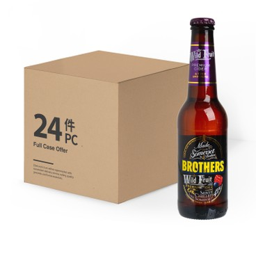 BROTHERS - Cider Wild Fruit Case - 275ML X24