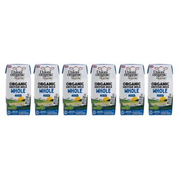 DAIONI 綠牛牛 - 有機全脂奶 - 200MLX6