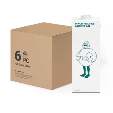MINOR FIGURES - Oat Milk case Offer - 1LX6