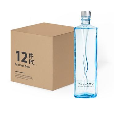 水神維拉母 - 芬蘭冰川礦泉水 (玻璃樽裝 ) - 原箱 - 750MLX12