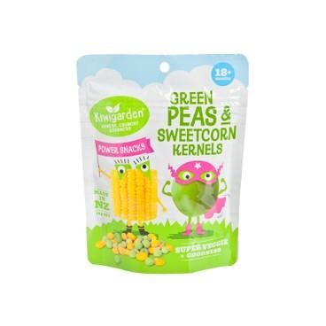 KIWIGARDEN - (換購品)紐西蘭天然豌豆及甜粟脆粒(無基因改造) - 14G