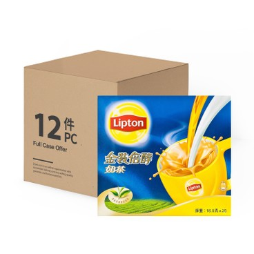 LIPTON - Milk Tea Gold case Offer - 16.5GX20X12