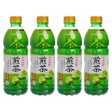 POKKA - 日本煎茶(無糖) - 500MLX4