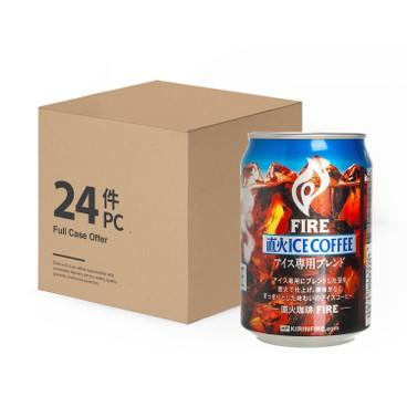 麒麟 - FIRE 直火微糖凍黑咖啡-原箱 - 280MLX24