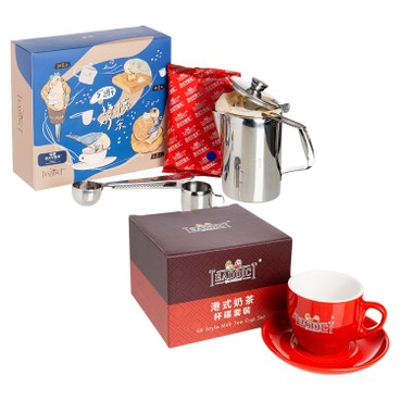 TEADDICT - 5th Anniversary Teapresso Diy Set For 2 milk Tea Milk Tea Cup Set - SET