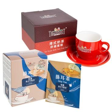 TEADDICT - 5th Anniversary Teapresso Drip Tea 10 s Milk Tea With Cup Set - SET