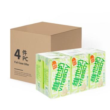 VITASOY - Melon Soyabean Milk Case - 250MLX6X4