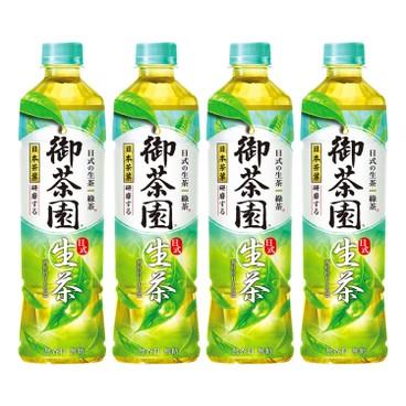 御茶園 - 日式生茶 - 550MLX4