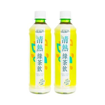 MEKO - BALANCY HERBAL COOL-GREEN TEA - 430MLX2