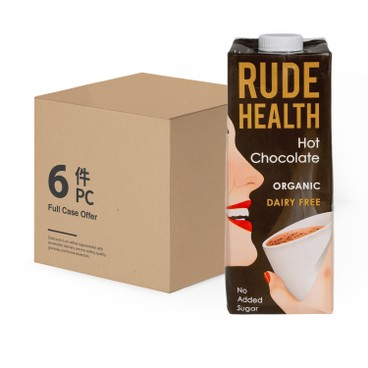 RUDE HEALTH (PARALLEL IMPORT) - Organic Hot Chocolate Drink - 1LX6