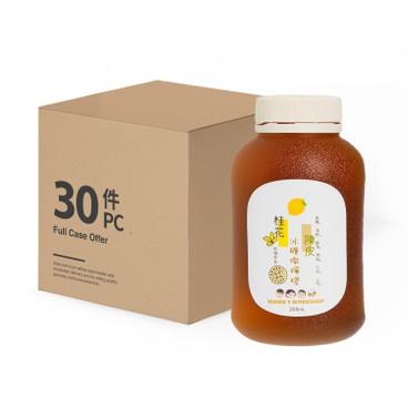 媽媽工房 - 即飲桂花陳皮冰糖燉檸檬-原箱 - 350MLX30