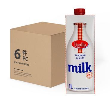 LISOLLA - 波蘭印薩3.5純牛奶 - 原箱 - 1LX6