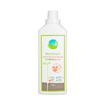 CF LIFE BY CHOI FUNG HONG - Natural Enzyme Deep Cleansing Concentrated Laundry Detergent Bundle - 1LX6