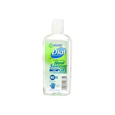 DIAL - Antibacterial Hand Sanitizer With Moisturizer - 118MLX3