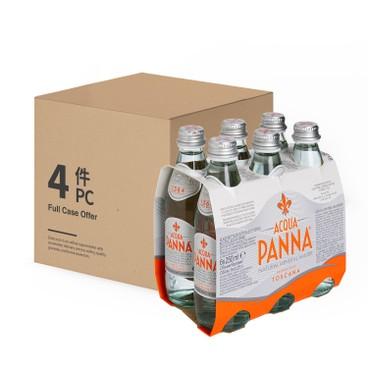 ACQUA PANNA - 天然礦泉水(玻璃樽) - 原箱 - 250MLX6X4