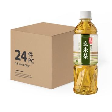 道地 - 極品玄米茶-原箱 - 500MLX24