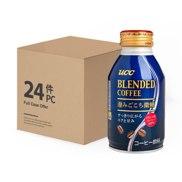 UCC - Blended Coffee low Sugar Full Case - 260MLX24